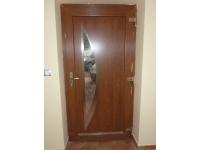 vchodové dveře do novostavby Třinec
