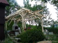 vystavby zahradního altánu v Slovenské republice